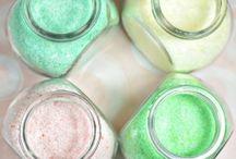 DIY beauty/bath salts/ creams/ shampoo's, etc.