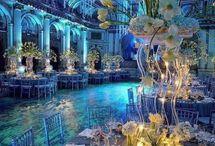 "Wedding decoration theme ""Sea World"""