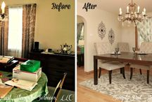 """Simply Put Staging """"Before and After"""" / Before and After home staging photos of our projects"""