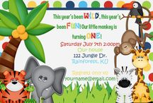 Jungle Party / Throw a wild jungle party and find some great ideas here.  Jungle themes are great for birthdays, baby showers, baby announcements and more!  Fun ideas for printables, cake ideas, decorations, jungle games and more to make your jungle celebration amazing.