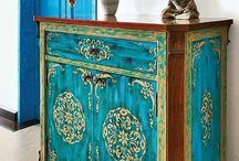 festett bútor