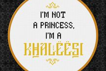 Cross stitch: Game of Thrones