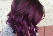 Plum hair colors