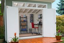Small garden studios / Space for crafting & reflection