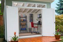 Home - Storage Units / Sheds. Storage Units. Small Garages. / by Souris Hong-Porretta