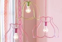 Our inspiration - Hanging Lampshades / Hanging lampshades and looks that we take inspiration from...