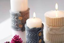 Dekorace - svíčky