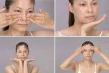 Visage massage japonais