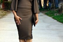 Classy & Chic Off shoulder Top & Skirt / www.mydailythreadz.me