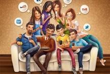 social media / by Diehaushaltshilfen Gmbh