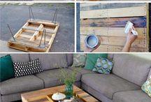 pallet wood table diy