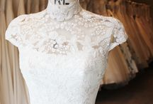 High Neck Lace Wedding Dress / The Couture wedding dress designer to see in London for bespoke luxury wedding dresses. A collection of high neck wedding dresses to inspire any new bride to be. www.phillipalepley.com