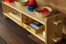Area juego Montessori - Montessori play area