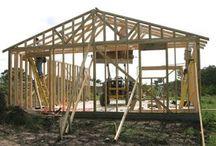 house timber framework