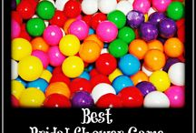 Bridal Party themes and games