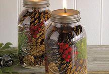 Jar and Glass Crafts
