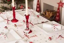 scandinavian christmas table decor