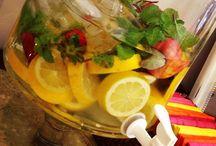 Bebida Decorada e Afins / Sugestões de bebidas decoradas com criatividade
