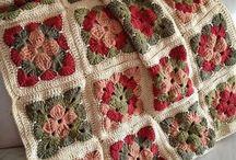 Çiçekli battaniye