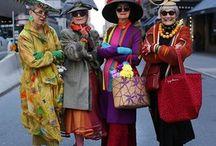 Mature female fashion