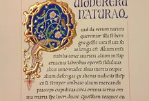 Illuminated initials