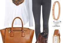 Combinaciones Pantalon Gris