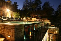Landscape Lighting / Great landscape lighting brings your outdoor space into the nightlife.
