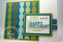 Cardmaking - Birthday