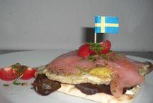 Smörrebröd & Smørrebrød / Leckere Ideen für ein typisch skandinavisches Butterbrot.