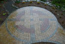Gardening tile patterns