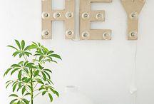 Dorm Room / Dorm decor ideas. Dorm friendly decor.