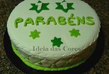 Bolos... Cakes / Alguns exemplos dos bolos que tenho feito aqui em casa... My home made cake design
