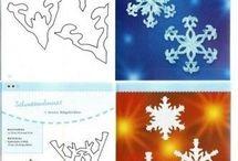 Zimní dekorace pro děti