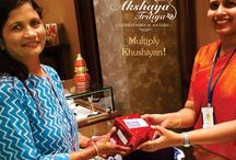 Akshya Tritiya 2017 #MultiplyKhushiyan Celebrations! / A heartfelt thank you to all the lovely women for being a part of our #AkshayaTritiya #MultiplyKhushiyan celebrations.