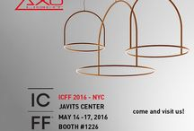 Axo Light @ ICFF 2016 / Discover our new collections during ICFF exhibition in New York city! Come and visit us from May 14th to 17th, booth #1226 *** Scopri le nuove collezioni durante la fiera ICFF a New York. Vieni a trovarci dal 14 al 17 maggio, booth #1226