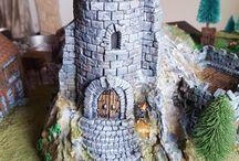 Torres, castelo e jogos