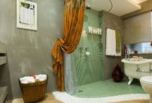 Banheiros Interfloor / Banheiros com pisos Interfloor. #pisosqueencantam