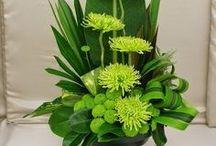arreglos florales simples