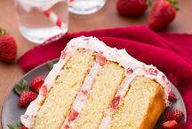 Strawberry Cakes ❤