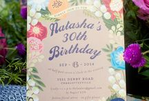 Floral Canopy Birthday Party / by Minted