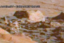 Marte, Rover Curiosity Trova un Hangar e una Piramide nella zona di Mount Sharp. Video.