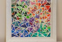 Kaleidoscope Art / A creative art project that is perfect for team-building experiences.
