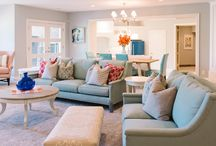 Home Decor - Living Room / Style and Rooms I love