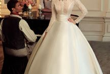 vintage wedding  dresd