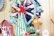 carnival birthday party ideas / by Chantal Cooper