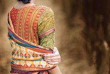 saree choli & loving them