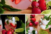 Great drinks / Strawberry mix drinks