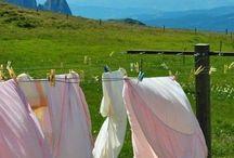 Laundry smelling like sunshine...
