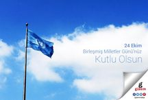 Gizem Mobilya Birleşmiş Milletler Gününüzü Kutlar. / http://www.gizemmobilya.com.tr/ #gizemmobilya #birleşmişmilletlergününüzü #kutlar #24Ekim
