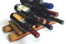 Wine Barrel Decor! / Wine barrel and wine barrel stave decor!